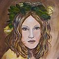 Yellow Rose I I by Julie Brugh Riffey