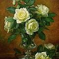 Yellow Roses by Albert Williams