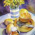 Yellow Still Life by Susan Herbst