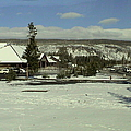 Yellow Stone National Park Rest Area by John Shiron