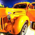 Yellow Truck 2 by David Morefield