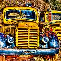 Yellow Trucks by Jon Berghoff