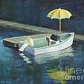 Yellow Umbrella by Claire Gagnon