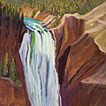 Yellowstone Falls by Suzanne Elliott