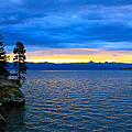 Yellowstone Lake Sunrise by Karon Melillo DeVega