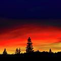 Yellowstone Sunset by Bill Gracey