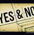 Yes And No by Perry Webster