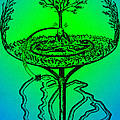 Yggdrasil From Norse Mythology by Photo Researchers