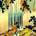 Yoro Waterfall In Mino 1833 by Padre Art