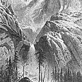 Yosemite Falls, 1874 by Granger
