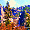 Yosemite In The Fall . 7d6287 by Wingsdomain Art and Photography