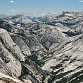 Yosemite Valley, View From Half Dome by Alex E. Proimos