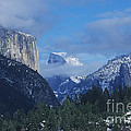 Yosemite View In Snow by Jim And Emily Bush