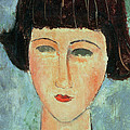 Young Brunette by Modigliani