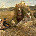 Young Harvesters by Lionel Percy Smythe