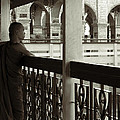 Young Monks In Mandalay Hill by RicardMN Photography