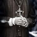 Young Renaissance Priest by Jill Battaglia