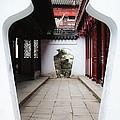 Yu Yuan Garden Path by Jenny Hudson