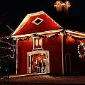 Yuletide Celebration In The Carriage House by Scott Hovind