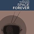 Yuri Gagarin Poster by Naxart Studio