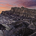 Zabriske Sunset by Wes and Dotty Weber