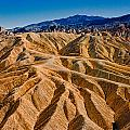 Zabriskie Point Badlands by Greg Nyquist