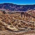 Zabriskie Point Panorama by Greg Nyquist