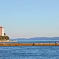 Zadar Pier On The Adriatic Sea by Artur Bogacki