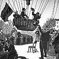 Zakharov's Balloon Flight, 1804 by Ria Novosti