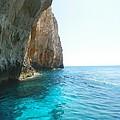 Zakynthos Blue Caves by Ana Maria Edulescu
