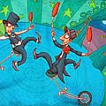Zanzzini Brothers by Autogiro Illustration