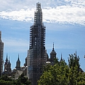 Zaragoza Ancient Bell Tower And Church Renovation In Spain by John Shiron