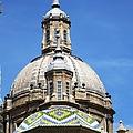 Zaragoza Basilica Amazing Detailed Roof Work In Spain by John Shiron