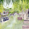 Zhou Zhuang Watertown Suchou China 2006 by Melly Terpening