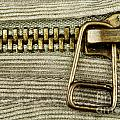 Zipper Detail Close Up by Blink Images