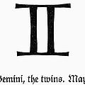 Zodiac: Gemini by Granger