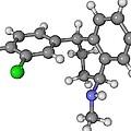 Zoloft Antidepressant Drug Molecule by Laguna Design