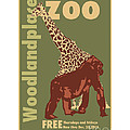 Zoo Poster by Kenneth De Tore