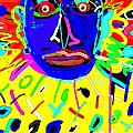 Zulu Yellow- Turquoise by Doug Duffey