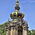 Zwinger Palace Crown Gate by Jon Berghoff