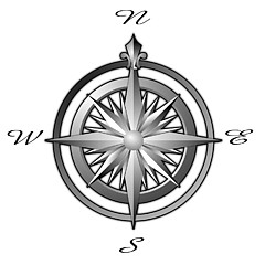Compass Rose Maps - Artwork for Sale - Colbert, WA - United States