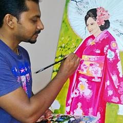 Jibin George - Artist