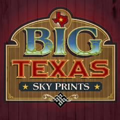 Big Texas Sky Prints