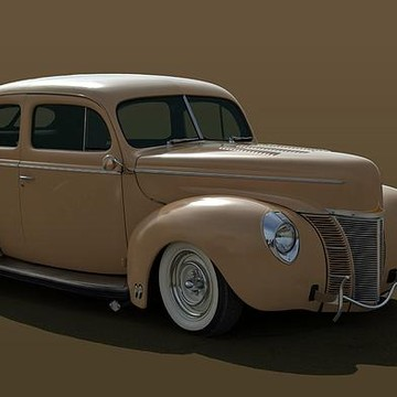 1940-41 Ford Classic and Custom Hot Rods Collection