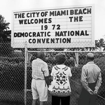 1972 Democratic National Convention Miami Beach Florida Collection