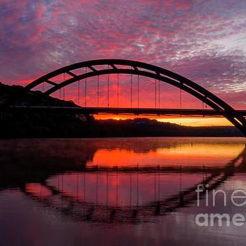 360 Pennybacker Bridge on Lake Austin Texas Image Gallery
