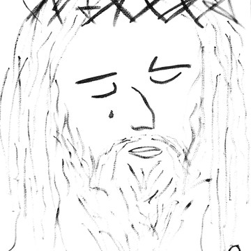 Abstract Jesus Images