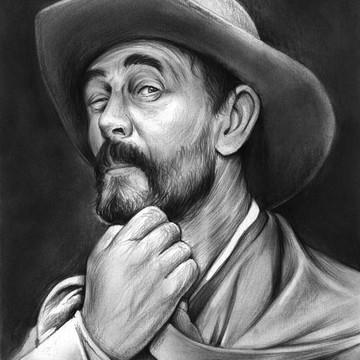 Actor Portraits in Pencil