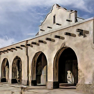 California Mission Style Arches