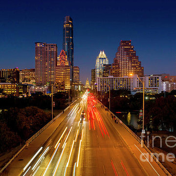 Austin Texas Skyline and Panoramic Cityscape Print Image Gallery